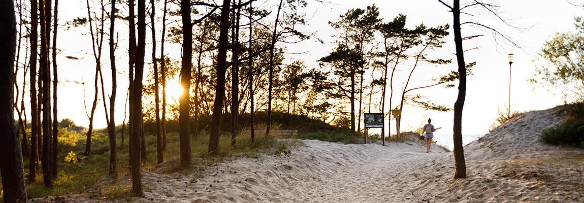 Plaża na wyciągnięcie ręki ...